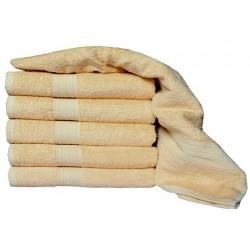 Froté ručník Aaryans 70x140 cm - Svetlohnedý