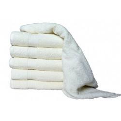 Froté uterák Aaryans 50x100 cm - Krémový