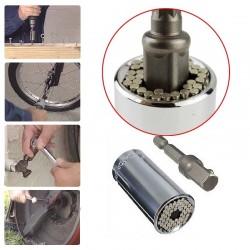 Univerzálny orech na uťahovanie skrutiek - súprava s nadstavcom na vŕtačku