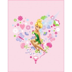 Detská fleecová deka 110x140 cm - Fairies Spring Time