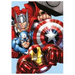 Detská fleecová deka 100x140 cm - Avengers