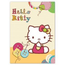 Detská španielska deka 80x110 cm - Hello Kitty II