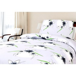 Bavlnené obliečky na dvojlôžko BedStyle - Omicro