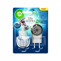 Air Wick elektrický osviežovač vzduchu, strojček & náplň - Tyrkysová lagúna