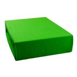 Jersey prestieradlo - Hráškovo zelené