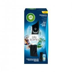 Osviežovač vzduchu + náplň - Freshmatic - Tyrkysová lagúna - 250 ml - čierny - Air Wick