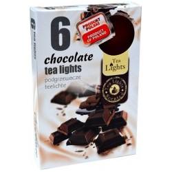 Čajové vonné sviečky (6ks) - Čokoláda