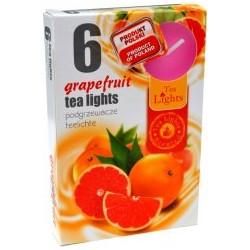 Čajové vonné sviečky (6ks) - Grapefruit