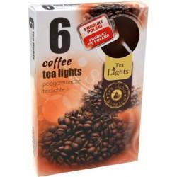 Čajové vonné sviečky (6ks) - Káva