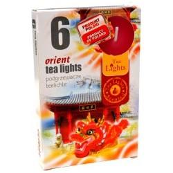 Čajové vonné sviečky (6ks) - Orient