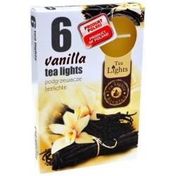 Čajové sviečky - Vanilka - 6 ks - Admit