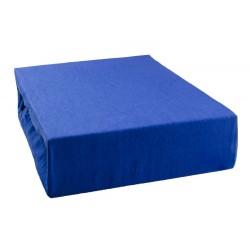 Jersey prestieradlo - Modré