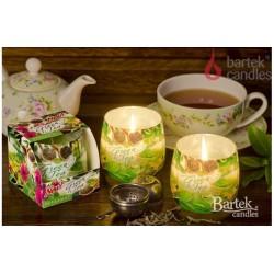 Vonná sviečka v skle - Zelený čaj s bergamotom, 100g
