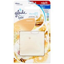 Náhradná náplň Glade Discreet - Vanilka - 8g - Brise