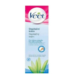 Depilačný krém na citlivú pokožku - 100 ml - Veet