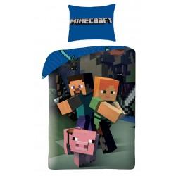 Bavlnené obliečky pre deti - Minecraft