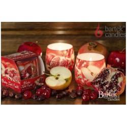 Vonná sviečka v skle - Červené ovocie, 100g