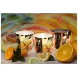 Vonná sviečka v skle - TuttiFrutti pomaranč, 115g