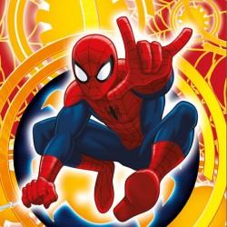 Povlak na vankúšik 40x40cm - Spiderman city, micro