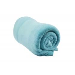 Deka z mikrovlákna - 150 x 200 cm - modrozelená - Aaryans