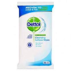 Antibakteriálne obrúsky na povrchy - 36 ks - Dettol