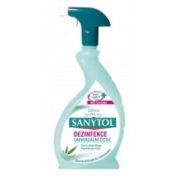 SANYTOL - dezinfekčný univerzálny čistič v spreji s vôňou eukalyptu, 500ml