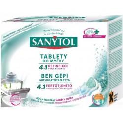 Tablety do umývačky 4  v 1 - 40 ks - Sanytol
