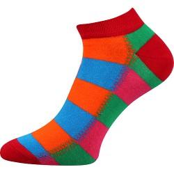 Unisex členkové ponožky - Farebné