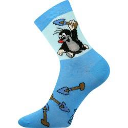 Detské ponožky - Krtko - svetlomodré - Boma