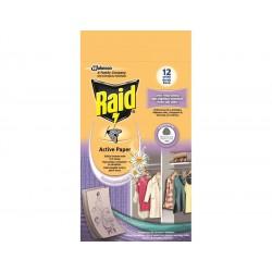 Raid - proti moliam aktívny záves čerstvé kvety - 4 ks v balení
