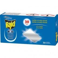 Raid - náhradná náplň pre strojček so suchou náplňou, 30 vankúšikov