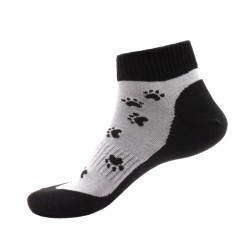 Unisex členkové ponožky - Čierne labky - Moda Čapek