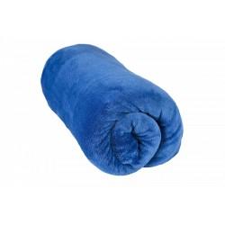 Deka z Mikrovlákna - 200 x 220 cm - modrá