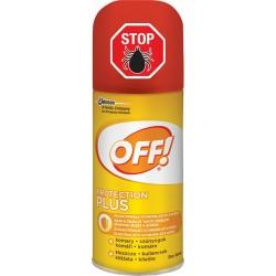 Off Protection Plus - rýchloschnúci repelentný spray, 100ml