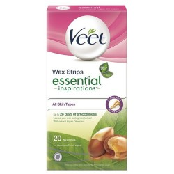 Veet® voskové pásiky Natural Inspirations ™ - Arganový olej