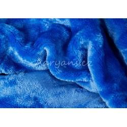 Mikroflanelové prestieradlo - modré - Aaryans