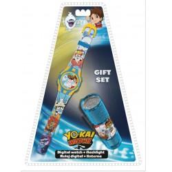 Darčeková sada - YO-KAI hodinky a LED baterka