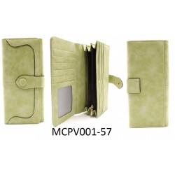 Dámska peňaženka - svetlozelená