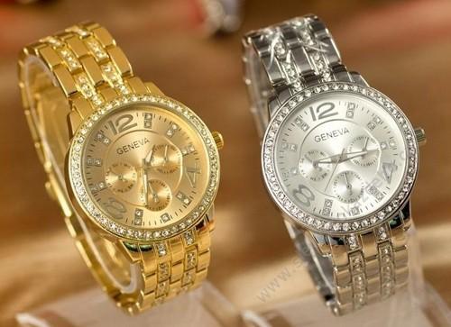 8003ce69d4 Dámske hodinky Geneva s crystal Elements - NAAU SK