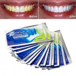 Bieliace pásiky na zuby Advanced Teeth Whitening Strips