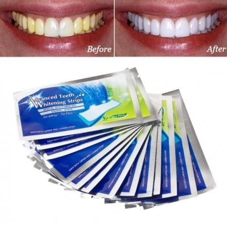 DS Revolučné bieliace pásiky na zuby Advanced - 14-dňová kúra