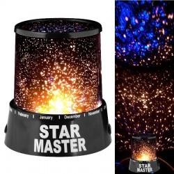 Nočná lampa - hviezdna obloha Star master SM1000