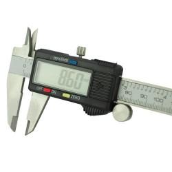 Digitálne posuvné meradlo s LCD displejom