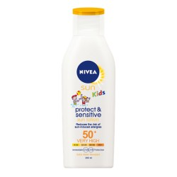 Nivea Sun Kids Pure & Sensitive - mlieko na opaľovanie SPF50 + 200 ml