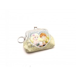 Detská peňaženka s krúžkom na kľúče Frozen