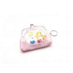 Detská peňaženka s krúžkom na kľúče Princezny