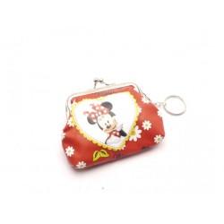 Detská peňaženka s krúžkom na kľúče Minnie