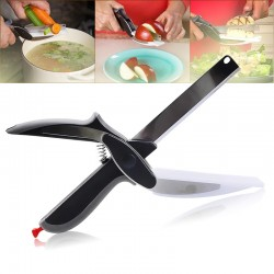 Kuchynské nožnice s doskou - Clever Cutter 2 v 1