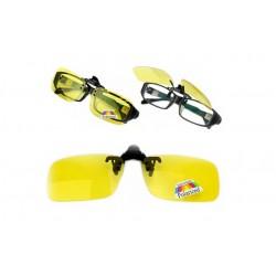 Klipsa na okuliare s polarizovaným sklami pre nočných vodičov - Night View