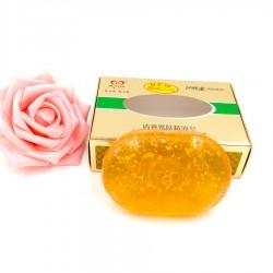 Luxusné kórejske zlaté mydlo - s 24-karátovým zlatom - Meixin